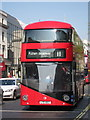 TQ3080 : N° 11 New Routemaster, The Strand by Oast House Archive