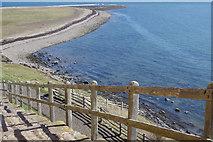 NU1341 : Castle Point from Lindisfarne Castle by Stephen McKay