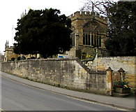 SP0228 : East side of St Peter's Church, Winchcombe by Jaggery