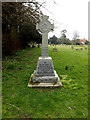 TM0567 : Bacton War Memorial by Adrian Cable