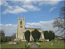 SK6989 : All Saints Church, Mattersey by John Slater