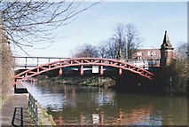 SK5803 : Upperton Road Bridge crosses the Grand Union Canal by Tim Glover