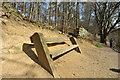 SE1954 : Bench near Fewston Dam by John Winder
