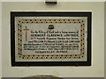 TG5204 : War Memorial to Herbert Clarence Lowther by Adrian S Pye