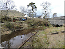 NS2472 : Start of the Greenock Cut by Thomas Nugent