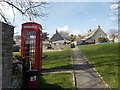 SY9777 : Worth Matravers: the village green by Chris Downer