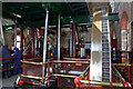 SJ4912 : Steam engines - Coleham Pumping Station by Chris Allen