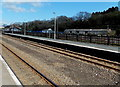 SM9615 : Disused platform 2 at Haverfordwest railway station by Jaggery