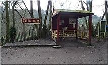 SJ9558 : The Dam Station, Rudyard Lake Steam Railway by Christine Johnstone