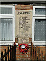 TF5820 : The War Memorial at Clenchwarton by Adrian S Pye