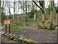 SJ9558 : Public footpath to Green Lane and the Macclesfield Road by Christine Johnstone