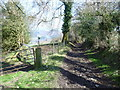SJ2536 : View over the Ceiriog Way near Chirk Castle by Jeremy Bolwell