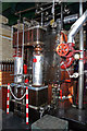 SJ4912 : Coleham Pumping Station - beam engine by Chris Allen