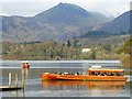 NY2622 : Launches coming and going on Derwentwater, Keswick by Andrew Smith