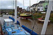 SD1678 : Boats at Haverigg by David Martin
