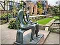 TQ0658 : Henry Moore's King and Queen at RHS Garden, Wisley by David Dixon