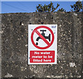 C0237 : Protest sign, Dunfanaghy by Rossographer