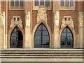SU9850 : Guildford Cathedral Entrance by David Dixon