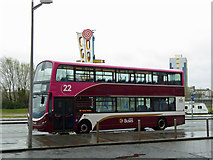 NT2677 : Lothian buses number 22 at Ocean Terminal Leith by Steve  Fareham