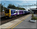 SJ8581 : Northern Rail emu  in Wilmslow railway station by Jaggery