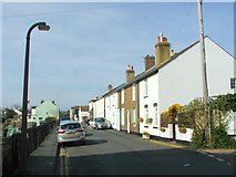 TR3751 : Campbell Road, Walmer by Chris Whippet
