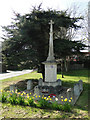 TM0481 : South Lopham War Memorial by Adrian S Pye
