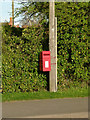 SK6925 : Anchor Inn, Nether Broughton postbox ref LE14 112 by Alan Murray-Rust
