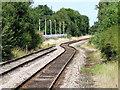 SD4108 : Railway towards Preston by Paul Charlesworth