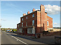 SK6925 : The old Red Lion at Nether Broughton by Alan Murray-Rust