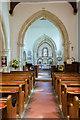 TQ4700 : Interior, St Andrew's church, Bishopstone by Julian P Guffogg