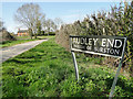 TM1481 : Audley End - Parish of Burston by Adrian S Pye