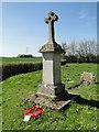 TM1686 : Tivetshall St. Margaret War Memorial by Adrian S Pye