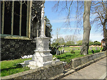 TM1682 : Dickleburgh War memorial by Adrian S Pye