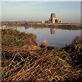 TG3815 : River Bure and St Benet's Abbey by Ian Taylor