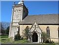 SP1620 : St Lawrence Church, Bourton on the Water by Paul Gillett