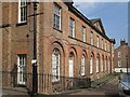 SK3538 : Darley Abbey - former St Matthews School - Brick Row frontage by Dave Bevis