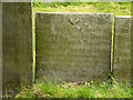 SK6826 : Belvoir Angel headstone, Upper Broughton Churchyard by Alan Murray-Rust