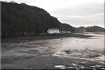 SH5873 : On the shores of the Menai Straits by N Chadwick