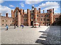 TQ1568 : The Base Court, Hampton Court Palace by David Dixon