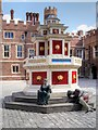 TQ1568 : Tudor Wine Fountain at Hampton Court Palace by David Dixon