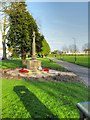 TQ0179 : War Memorial and the Memorial Ground, Langley by David Dixon