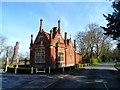 TM1857 : Lodge cottage to Helmingham Park by Bikeboy