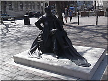 SU6400 : Charles Dickens statue, Guildhall Square, Portsmouth by Robin Sones