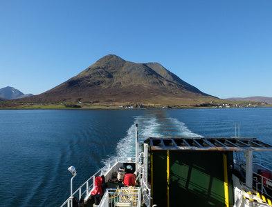 NG5230 : View back to Skye by John Allan