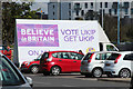 TQ5946 : UKIP advertising van, Sainsbury's car park by Oast House Archive