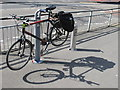 TQ2180 : Public bike repair stand, The Vale, Acton by David Hawgood