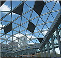 TQ2380 : Roof of Westfield shopping mall by David Hawgood