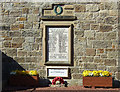 NU1705 : The Great War Memorial, Newton on the Moor by JThomas