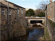 SD8789 : Gayle Beck between bridges Hawes by Steve Houldsworth