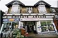 SE2045 : Kirkgate Arcade, Otley by John Winder